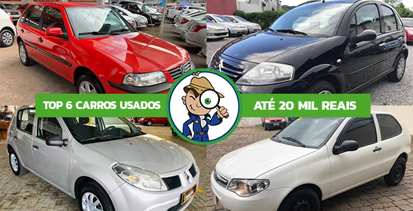 CARROS ECONOMICOS E BARATOS ATE 20 MIL