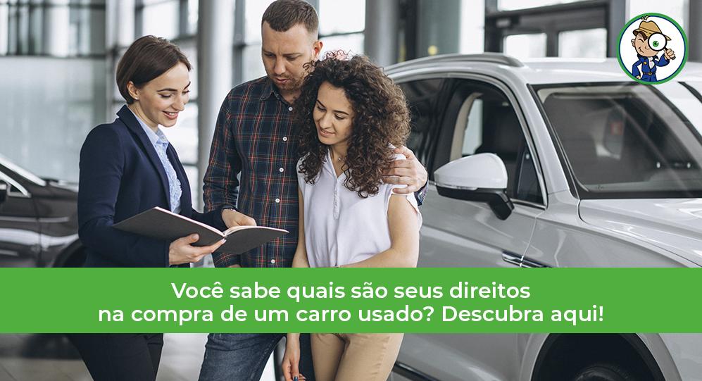 direitos do consumidor na compra de veículos