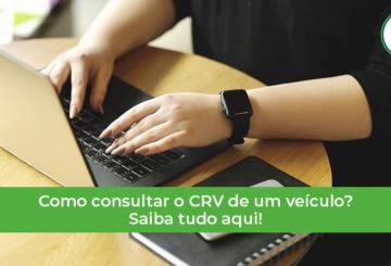 como consultar o número do CRV