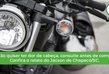 veja como consultar motos de leilão