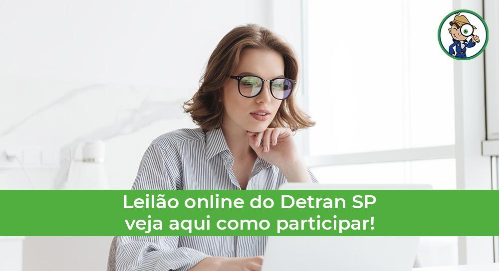 como participar do leilão online do Detran SP