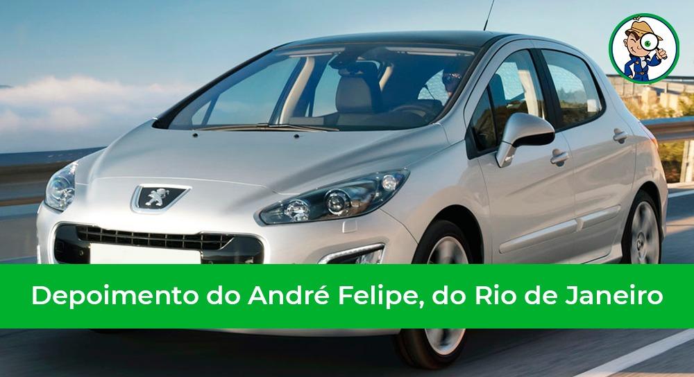 depoimento do nosso cliente do Rio de Janeiro que se livrou da compra de um carro de leilão