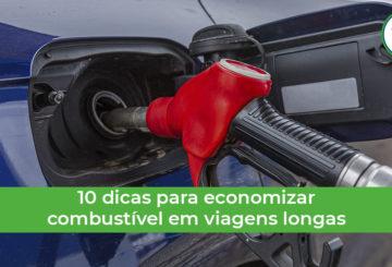 como economizar combustível em viagens