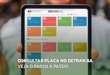 imagem portal de consultas Detran BA