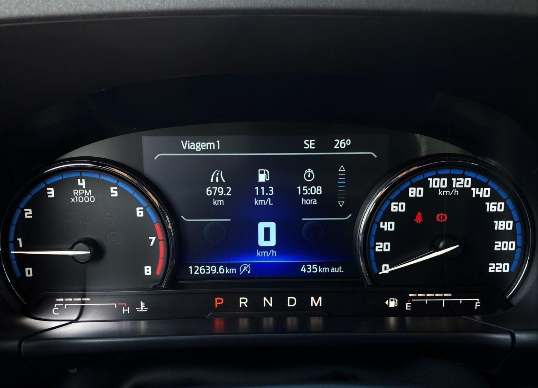 Imagem Fiat Bronco Sport painel