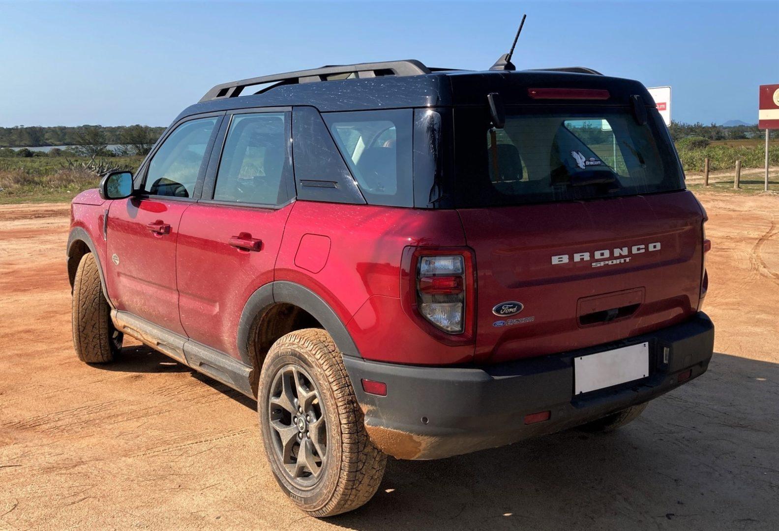 Imagem Fiat Bronco Sport traseira