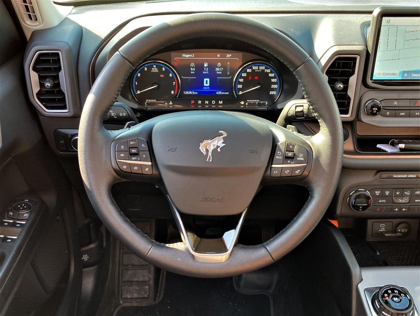 Imagem volante Fiat Bronco