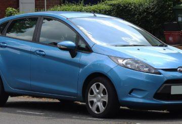 imagem Ford Fiesta 2010 azul
