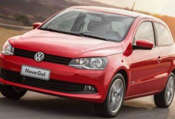 Imagem Volkswagen Gol vermelho 2014