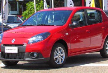 Imagem Renault Sandero G1 vermelho